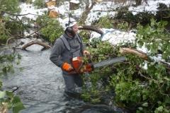 Baumarbeiten für den WVER